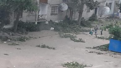 Photo of Аягөздегі дүлей дауыл болды
