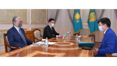 Photo of Мемлекет басшысы Жоғарғы сот төрағасы Жақып Асановты қабылдады