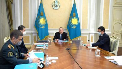 Photo of Нұрсұлтан Назарбаевтың төрағалығымен Қауіпсіздік Кеңесінің отырысы өтті