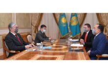 Photo of Мемлекет басшысы Kaspi.kz компаниясының негізін қалаушыларды қабылдады