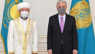 Photo of Токаев принял верховного муфтия Казахстана
