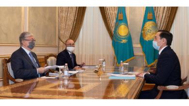 Photo of Тоқаев ҚХА төрағасының жаңа орынбасарына тапсырма берді
