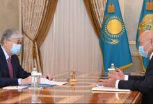 Photo of Президент Түркістан облысының әкімін қабылдады
